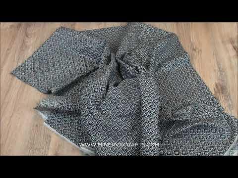 Geometric Floral Cotton Lawn Dress Fabric