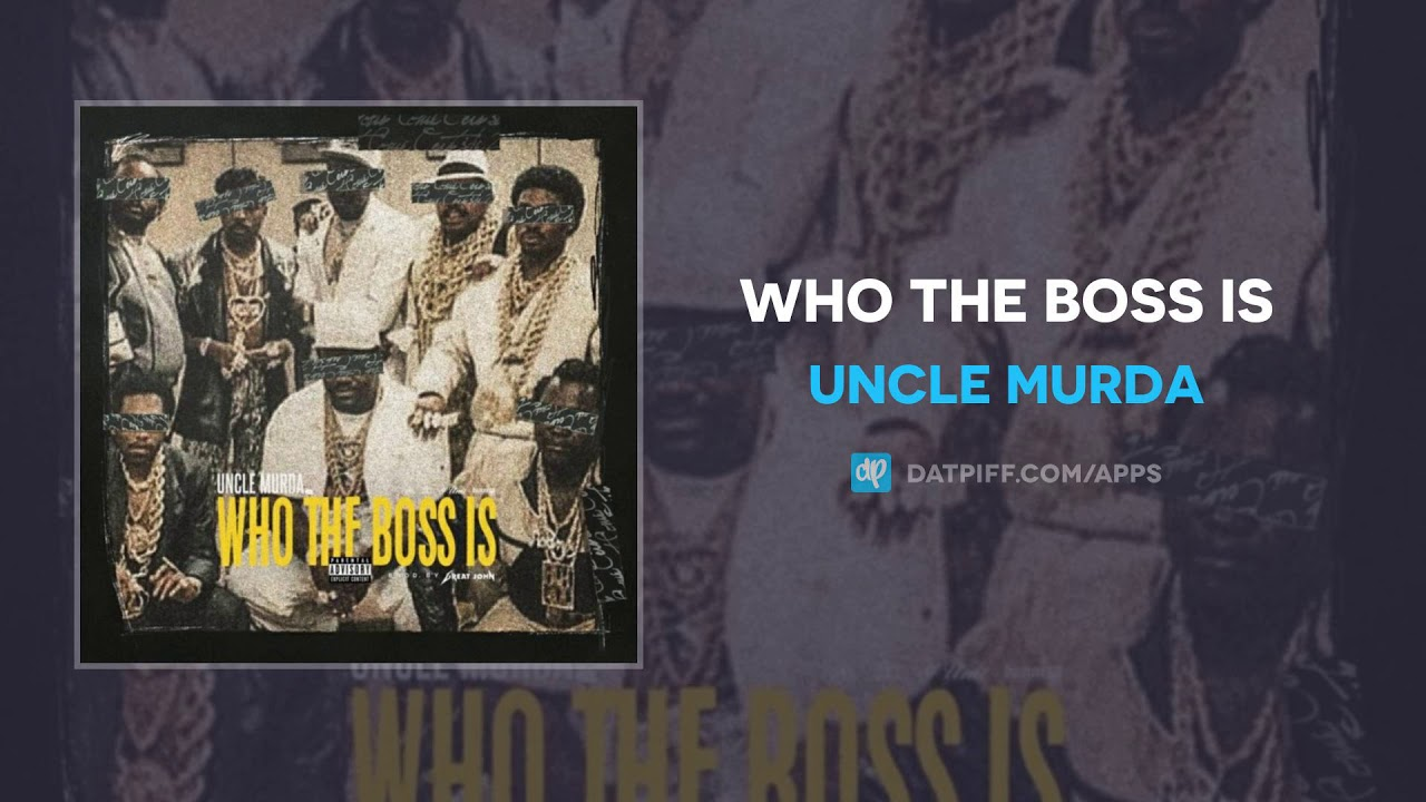 Uncle Murda — Who The Boss Is (AUDIO)