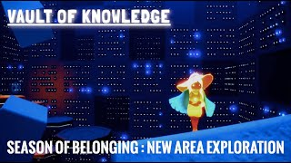 Sky: Children of the Light - New Vault of Knowledge Matrix Area (Season of Belonging)