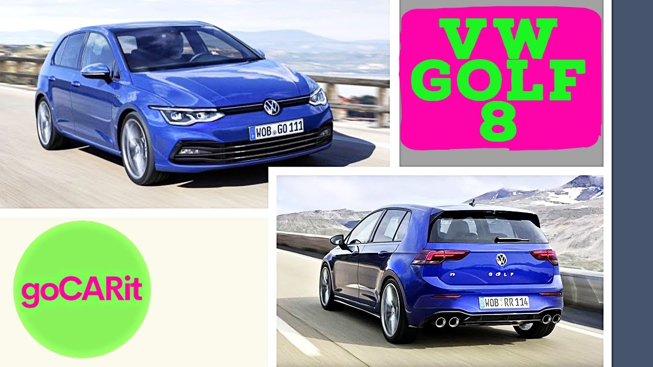 new vw golf 8 everything you should know about the new. Black Bedroom Furniture Sets. Home Design Ideas