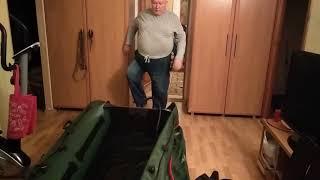 анпакинг лодки vulkan vm325