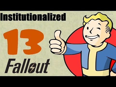 Fallout 4 EP13 Main Quest - Institutionalized part 1 [No Commentary]