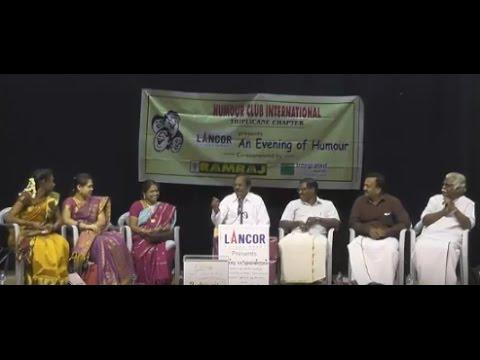 Sirappu Pattimandram | Pulavar Ramalingam | Humour Club | Triplicane Chapter | Feb.2017