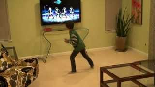 Maxwell dances to What Makes You Beautiful by One Direction on Wii Just Dance 4, 12 Jan 2013