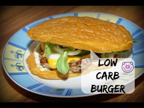 Low Carb Burger - YouTube