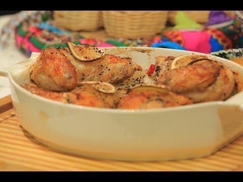 صينية الدجاج بالليمون و البطاطس | غادة التلي