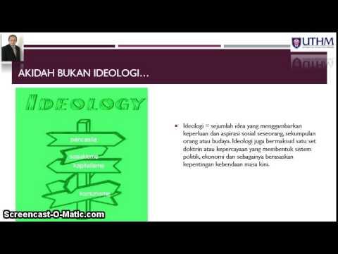 Akidah Ketuhanan & Sains Topik 3