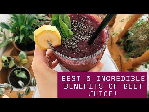 Best 5 Incredible Benefits Of Beet Juice   INFO SPOT