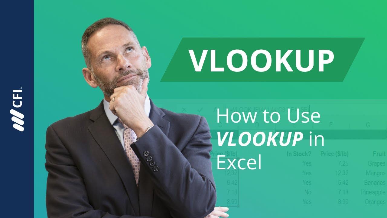 VLOOKUP Function in Excel - YouTube