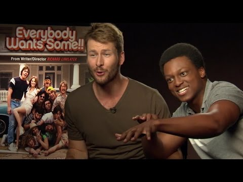 Everybody Wants Some!! Glen Powell on J. Quinton Johnson's obsession with Hamilton musical