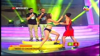 COMBATE Beso o Cachetada 2/2 - 03/03/14