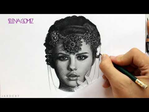Drawing @SelenaGomez By Juan Andres #StarsDance
