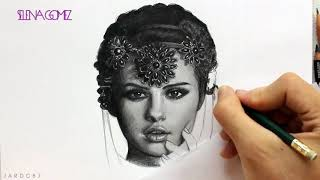 Hello guys! in this video i will be drawing with graphite pencils the cover of selena gomez stars dance's new album. hope you enjoy it and subscribe to the...