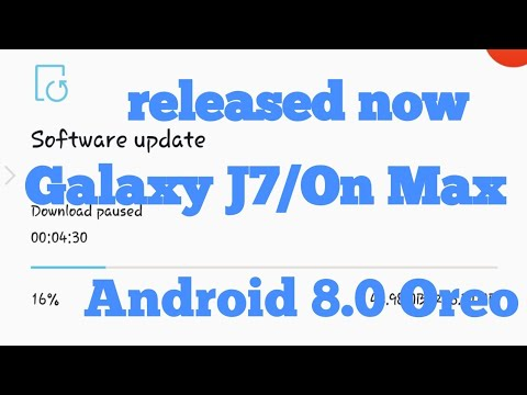 official 8 0 0reo update||Galaxy J7/On max 8 0 update may be||New update