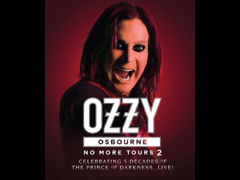 Ozzy Osbourne releases tour dates for 2022 for his Euro/UK 'No More Tours 2'