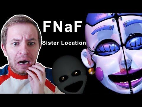FNaF: Sister Location | Четвёртая ночь - под маской