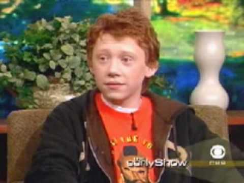 Thumbnail: 2002: Rupert Grint and Emma Watson on the Early Show