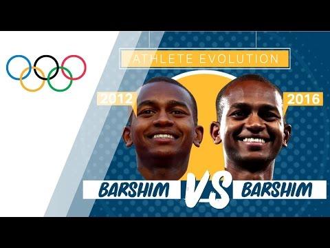 Mutaz Essa Barshim (2012) vs Mutaz Essa Barshim (2016 ) | Athlete Evolution