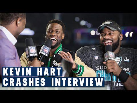 Fletcher Cox & Kevin Hart's Hilarious Post Super Bowl LII   NFL GameDay Prime