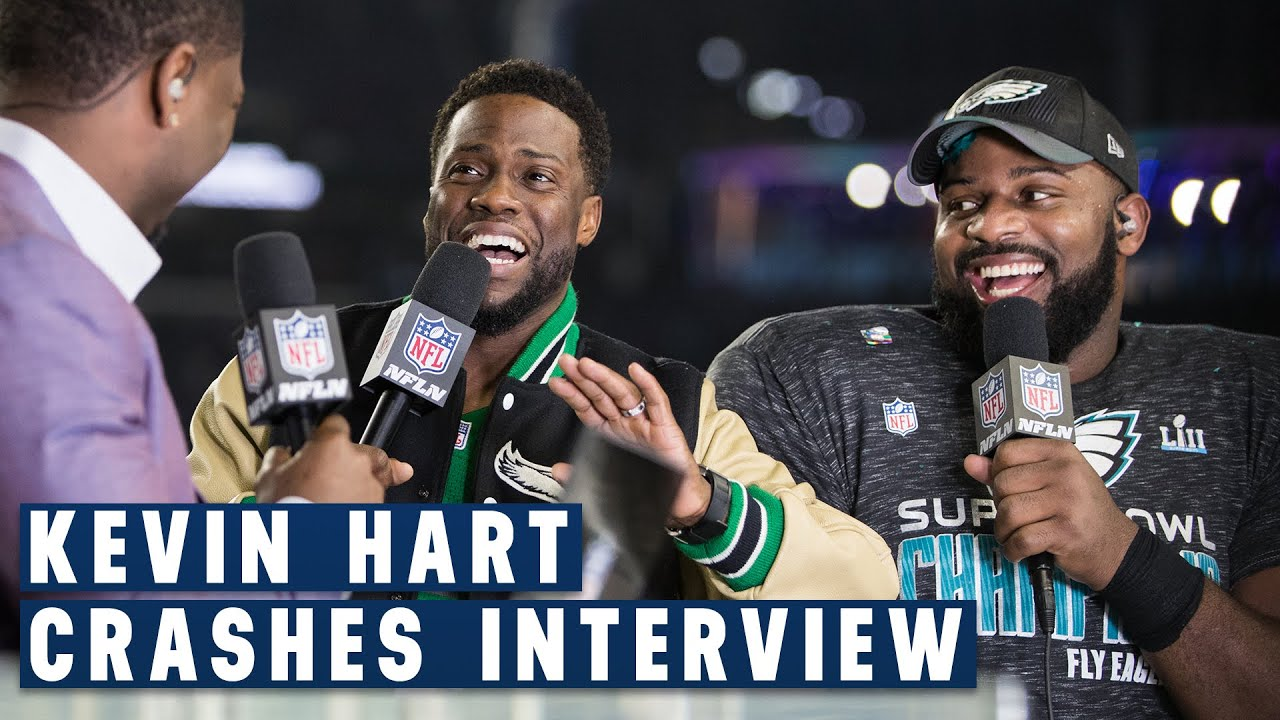 fletcher-cox-kevin-hart-s-hilarious-post-super-bowl-lii-interview-nfl-gameday-prime