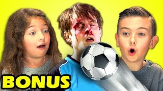 Kids React to Top Soccer Shootout Ever With Scott Sterling (Bonus #122)
