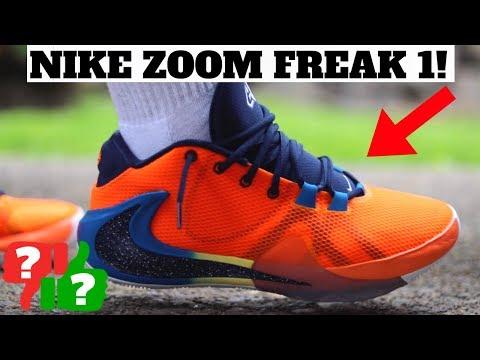 613bdaf59b25c NIKE ZOOM FREAK 1 REVIEW & ON FEET! Nike Zoom Freak 1 here:  https://bit.ly/2JUHE0y. Help me reach 500k Subscribers!
