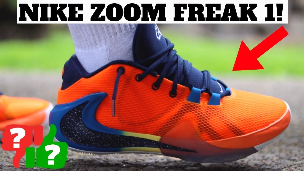 2a808c8408097 WORTHY BUYING? NIKE ZOOM FREAK 1 REVIEW & ON FEET!