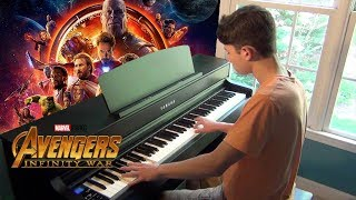 Avengers: Infinity War - Main Theme & Ending Theme (Piano Cover)