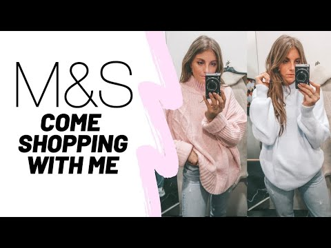 COME SHOPPING WITH ME IN M&S // Marks & Spencers Haul // Sinead Crowe