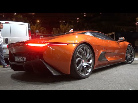 Jaguar C-X75 Brutal SOUNDS & Getting Loaded Into The Truck!