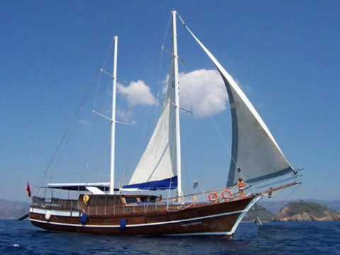 Charter gulet Lord of the Blue in Turkey.wmv