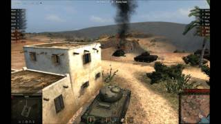 "World of Tanks - Historic Battle  - Event No.29  ""Battle of El Guettar"" Round 2"