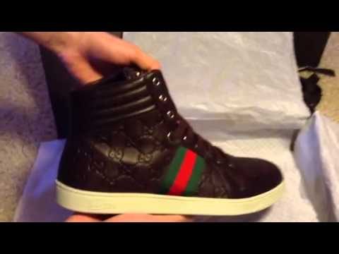 Authentic Gucci Sneakers Unboxing Coda Youtube