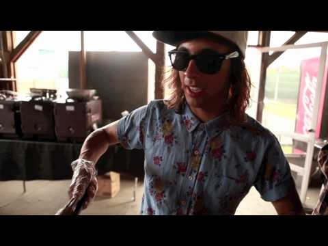 Pierce The Veil in Warped Tour 2012 Catering