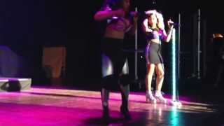 THE OMG GIRLZ-never stop loving you/lover boy #AATWtourPhilly 2013