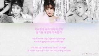 Girls' Generation TTS   겨울을 닮은 너 Winter Story Color Coded Lyrics ENG ROM HAN