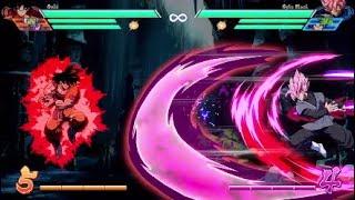 DBFZ - Kaioken Finisher Beats Everything (Except Super Spirit Bomb lol)(Kaioken vs lvl 1 & 3 Supers)