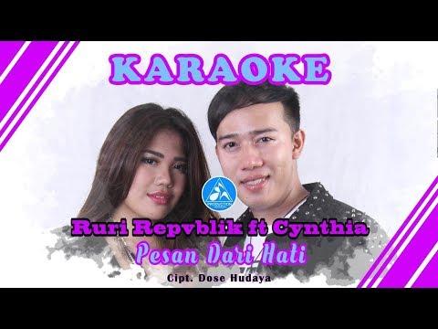 Ruri Repvblik feat Cynthia Pesan Dari Hati [Official Video Karaoke]