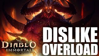 The Diablo Immortal Reveal Trailer Is The Third Most Disliked YouTube Video OF ALL TIME!