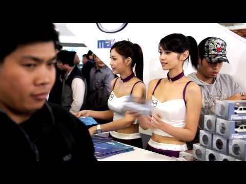2009 Taipei Car Show - Mazda Girl