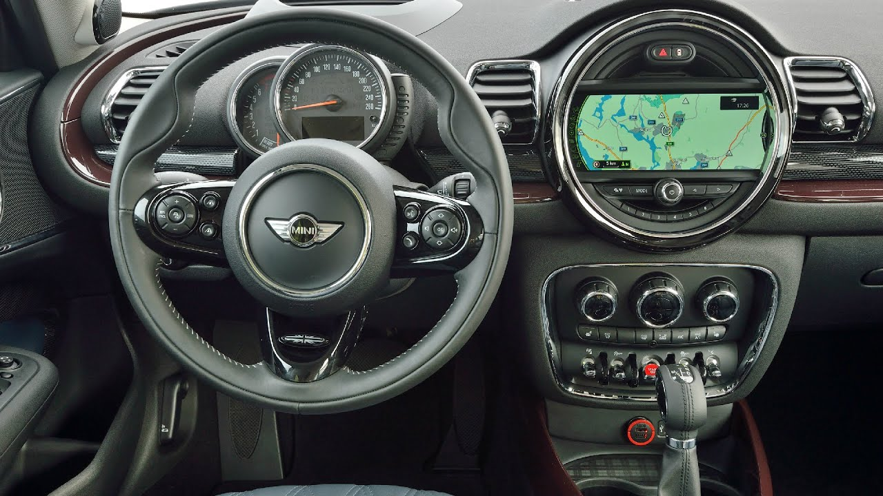 2016 Mini Cooper S Clubman Pure Burgundy Interior