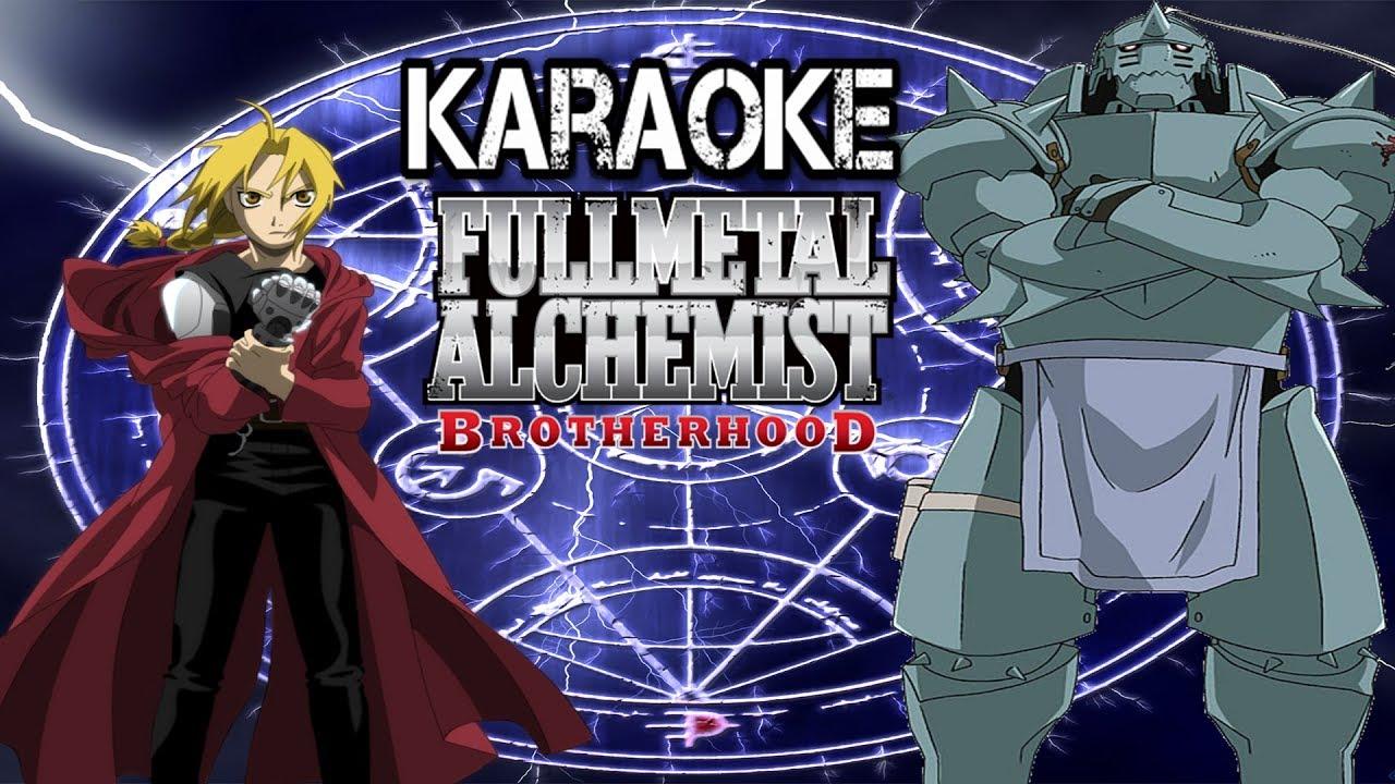 Full Metal Alchemist BROTHERHOOD| Karaoke Again (Yui ...
