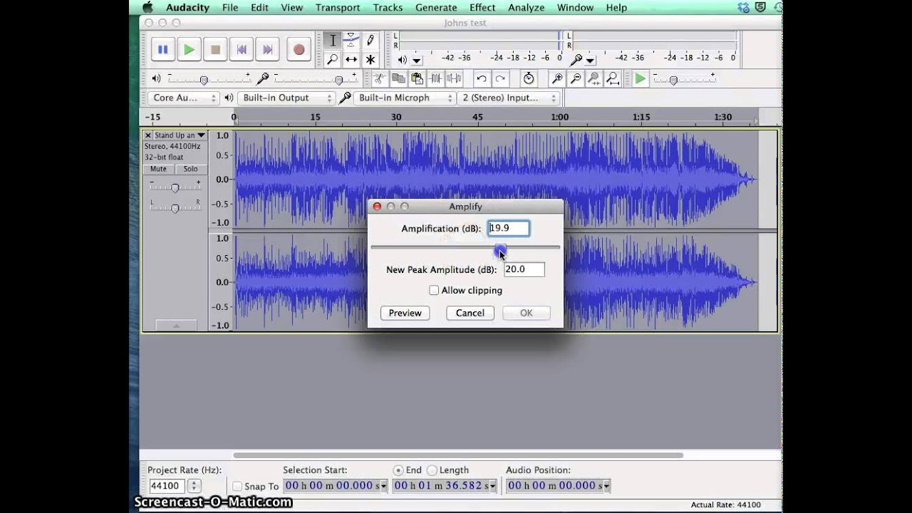 Audacity Advanced Editing Techniques - YouTube