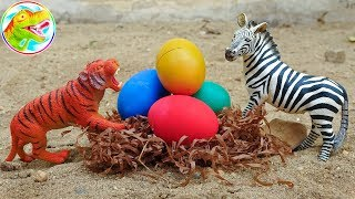 Unexpected eggs hatched many animal friends - children toy H1111U ToyTV