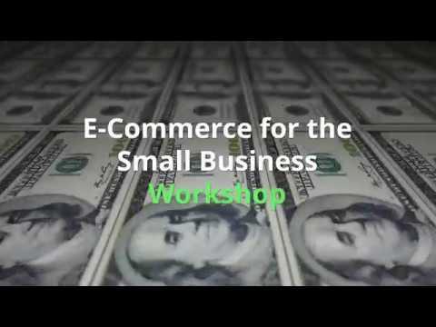 E commerce Workshop - Saturday, June 23, 2018