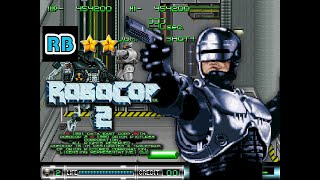 1991 [60fps] Robocop 2 1908500pts Nomiss ALL