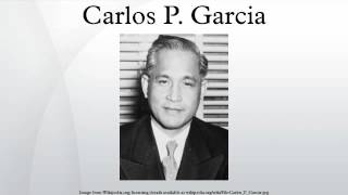 carlos p garcia term paper Studying the administration of carlos p garcia, which was from 1957-1961, would be of utmost significance and contribution to the problem stated above by 1962, when diosdado macapagal assumed the presidency, the period of control, especially on import and foreign exchange, that characterized the quirino, magsaysay, and garcia administrations.