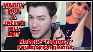 Manny MUA & Jaclyn Hill LIE About Morphe Foundation!??