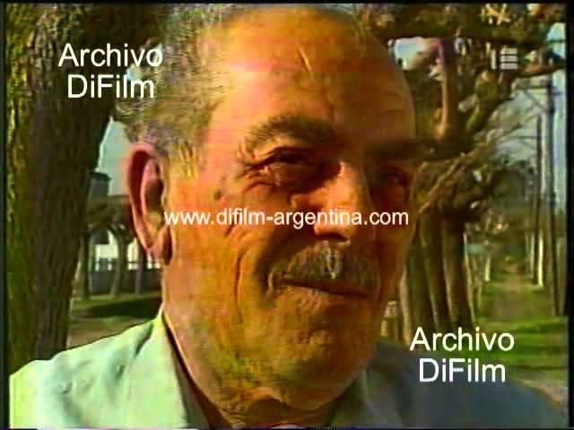 DiFilm - Desocupacion obreros del ferrocarril en Mechita (1992)