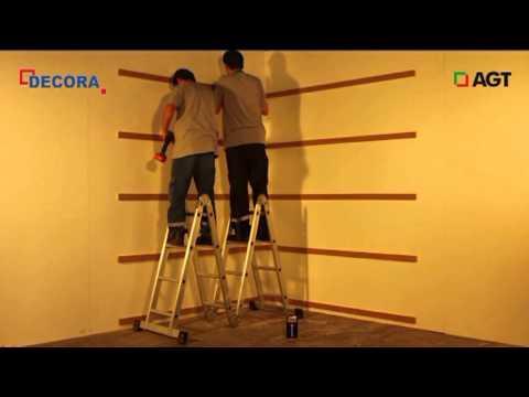 видео: Облицовка стен панелями МДФ. Технология монтажа